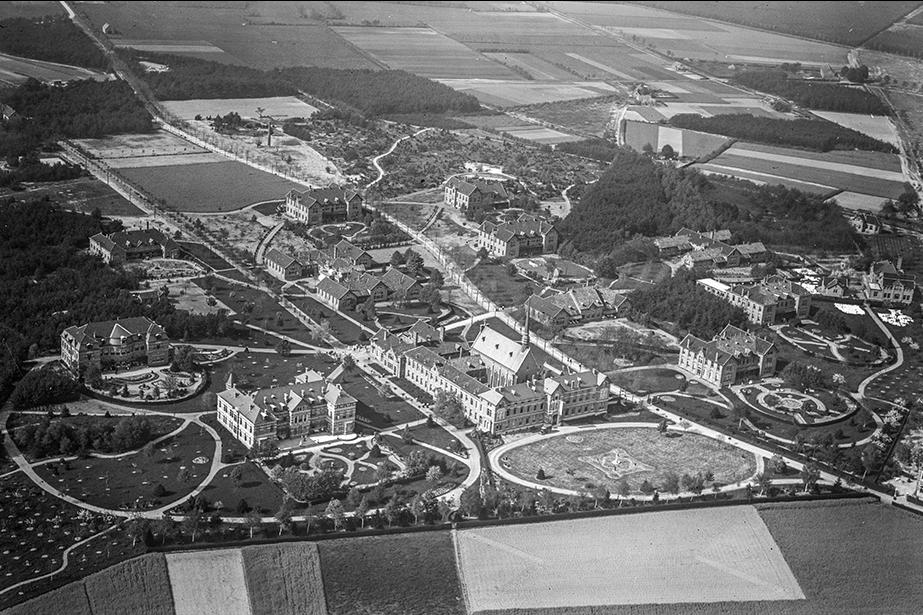 Historische luchtfoto Annapark