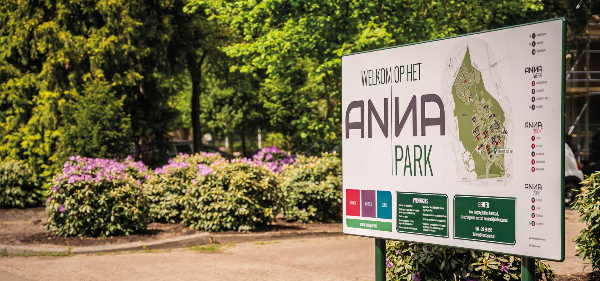 Blijven genieten van het Annapark