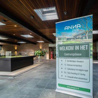 Annapark informatiecentrum entree