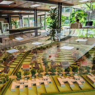 Annapark informatiecentrum - maquette Annahaeghe